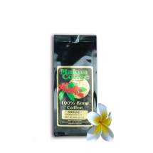 Makua Coffee Company 100% Kona Coffee Medium Roast Ground 8 oz Bag