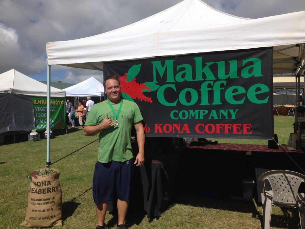 Dylan Aurway, Makua Coffee Company