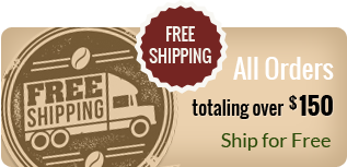 Free Shipping for all Makua Coffee Company orders totaling over $150