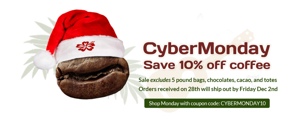 Makua Coffee Company Cyber Monday Sale